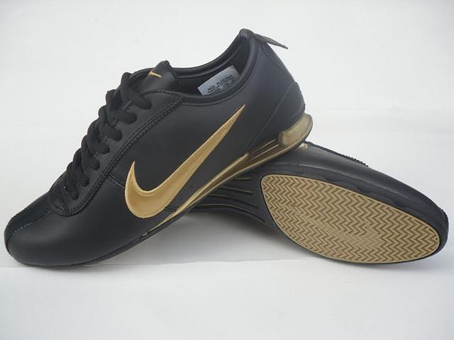 Nike Shox Rivalry Noir Or